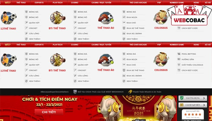 12bet thể thao