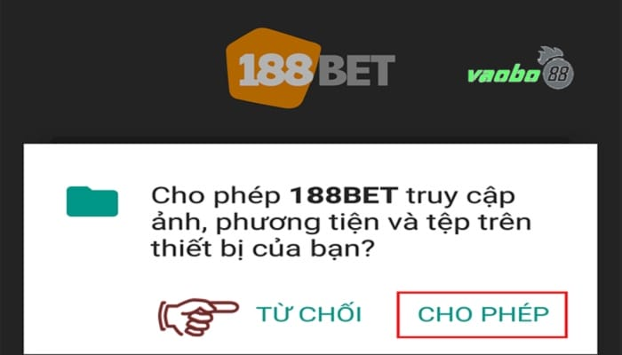 Ứng dụng 188bet android