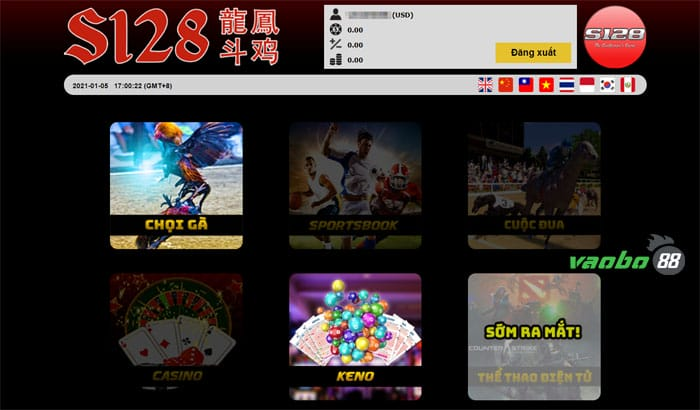 review cổng game s128